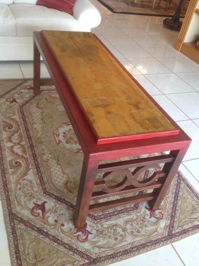 Table finished